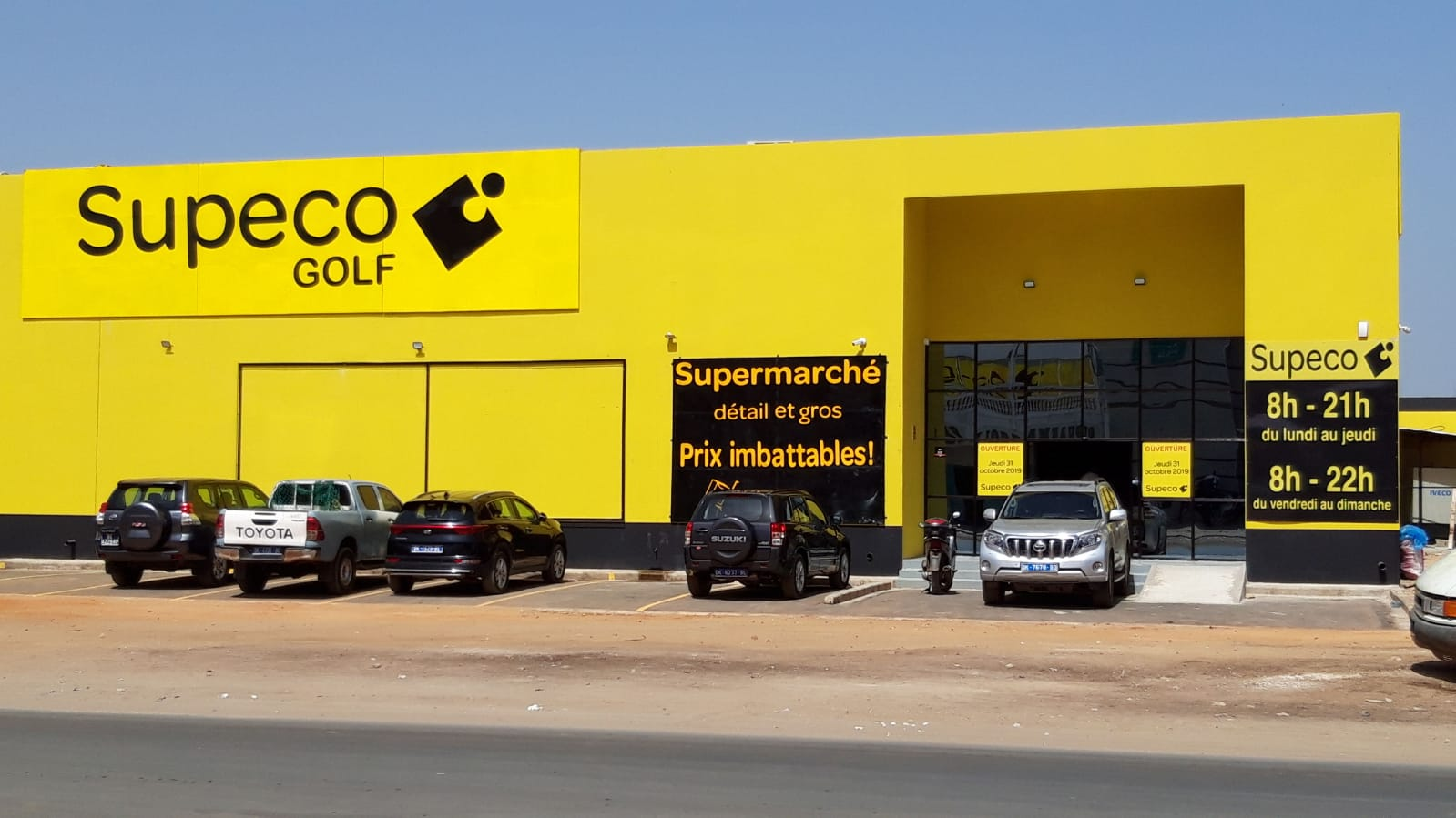 Inauguration de Supeco « Golf », Dakar