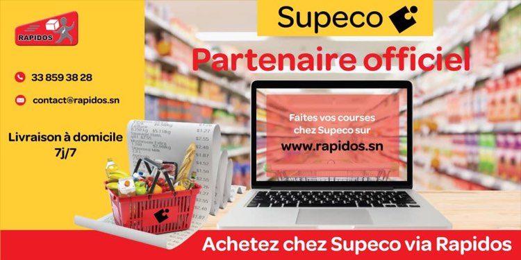 Supeco Sénégal en partenariat avec Rapidos