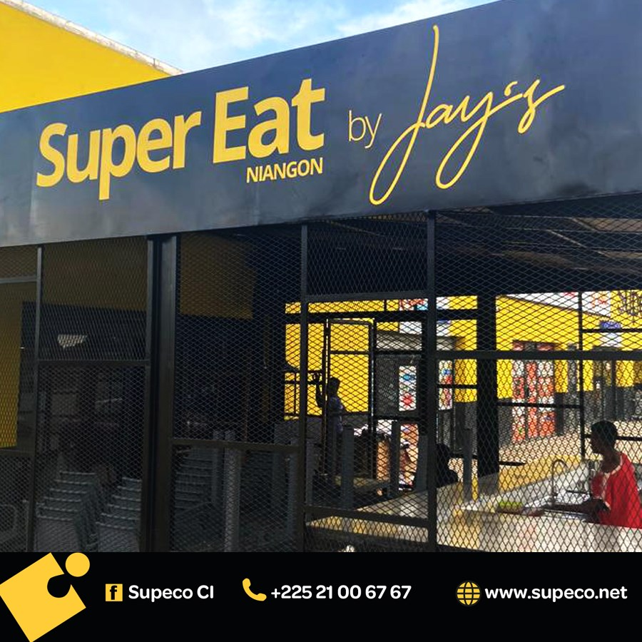 Ouverture du restaurant SUPER EAT by Jay's chez Supeco Niangon