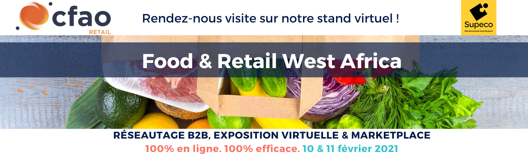 Supeco présent au salon Food & Retail West Africa